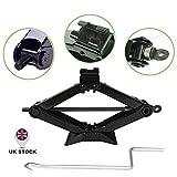 Compact Scissor Jack Lift 2 Ton for Audi BMW Vauxhall Ford Benz Dodge