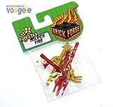 Custom Brick Forge Zubehör Set Ninja Golden Fire für z.B. LEGO ® Figuren