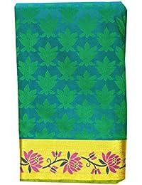 Saravanabava Silks - Kanchipuram Silks Sarees (Art Pattu Meena Border Plain Empossed SRBS0321 )
