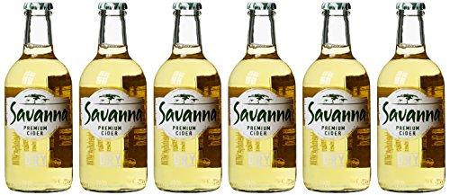 NV Konings Savanna Dry Premium Cider from Stellenbosch (6 x 0.33 l)