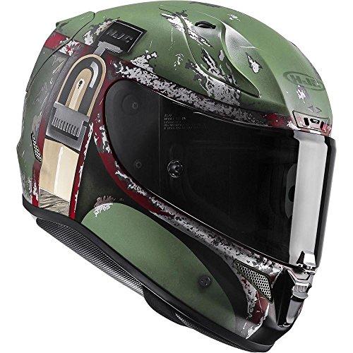 Hjc Rpha 11casco integrale moto sport-Star Wars Boba Fett Limited Edition