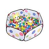 Lalawow Faltbar Bällebad Ballpool Bällepool für 1-3 jährige Baby Kinder OHNE Bälle (Pool-A)
