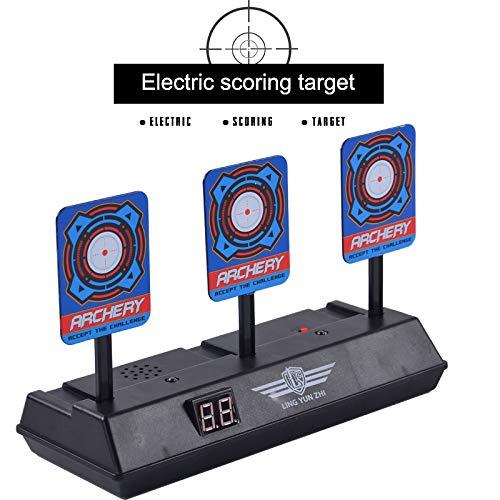 Soulitem Electric Scoring Auto-Reset Digitales Ziel für Nerf N-Strike Blaster