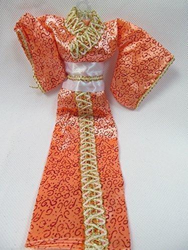 Pfirsich Design Japanisch Kimono BARBIE Sindy Spielzeug Puppe Geisha Outfit Verkleidung - Geschrieben Von London von Fett-catz (Geisha Outfits)