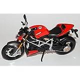 Ducati Mod Streetfighter S Rot 1/12 Maisto Modell Motorrad Modell Auto