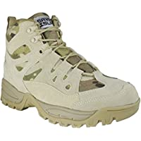 Savage Island Tactical Mid Height Combat Boots Multicam Camo