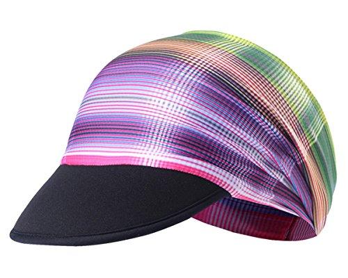 Aieoe cappello maschera corsa anti sole multifunzionale bandana cap ciclismo escursioni cappellino pieghevole fascia attività outdoor causal sport moto alpinismo anti-uv per donna uomo - modello 5