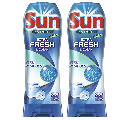 sun-gel-lave-vaisselle-expert-extra-fresh-clean-28-lavages-lot-de-2