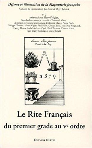 Rite français du premier grade au Ve ordre