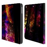 Head Case Designs Offizielle Haroulita Saturn-Blitz Raum Brieftasche Handyhülle aus Leder für iPad Air (2013)