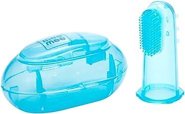Mee Mee Unique Finger Brush, Blue