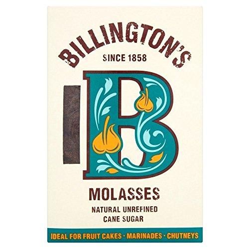 Billington Natural Melasse Zucker (500 g) - Packung mit 2