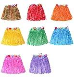 fe985b7d4 Faldas de hierba Falda de hierba Hawaiana Ropa de baile Mostrar faldas  Color al azar