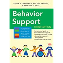 Behavior Support (Teachers' Guides) (English Edition)