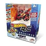 Mondo-63571 Nano Drone radiocomandato, Colore Livrea Hot Wheels, 63571