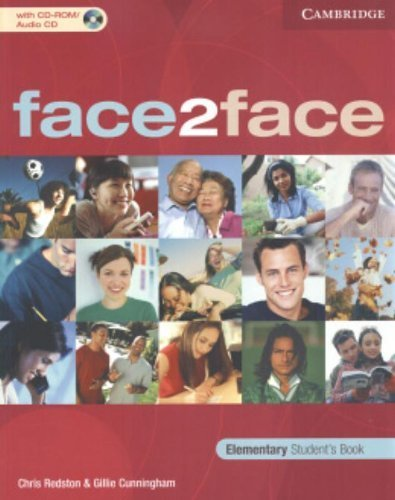 face2face Elementary Student's Book with CD ROM/Audio CD by Chris Redston (2005-05-16)