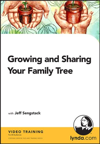 Growing and Sharing Your Family Tree training (PC/Mac) (Family Tree For Mac)
