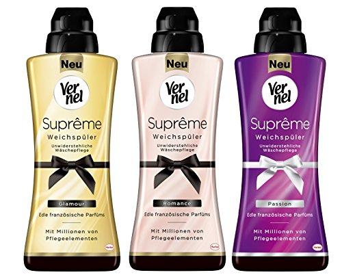 Vernel - Suavizante 'Supreme' con aroma Passion,