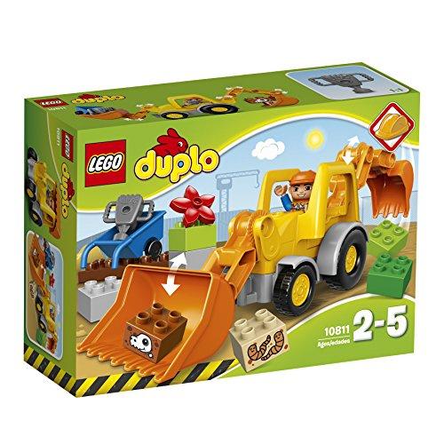 LEGO 10811 Duplo Town Backhoe Loader Construction Set – Multi-Coloured