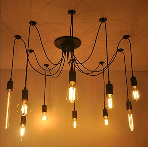 Suspensions Starlight salon chambre lumières personnalisé créatif bricolage étoilé Edison Tennant lustres éparpillés
