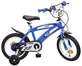 Kinderfahrrad Speed TX blau 14 Zoll mit Stützräder