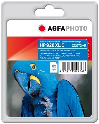 Preisvergleich Produktbild AgfaPhoto APHP920CXL Tinte für HP OJ6000, 11 ml, cyan