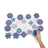 cama24com Kinderstempel XXL Schneekristalle Eiskristalle Weihnachten 12 verschiedenen Motiven Palandi®