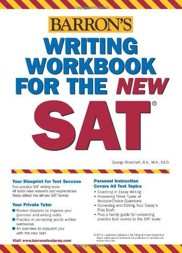 Writing Workbook for the New SAT (Barron's SAT Writing Workbook)