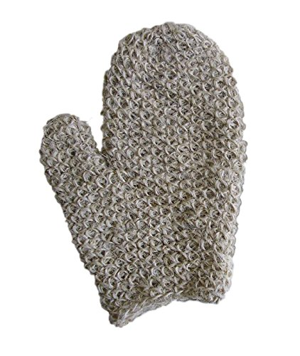 MAGIT Knit Handmade Superior Horsehair Mitt Close, White