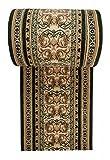 WE LOVE RUGS CARPETO Läufer Teppich Flur in Grün - Orientalisch Muster - Kurzflor Teppichlaufer Verona Kollektion 100 x 400 cm