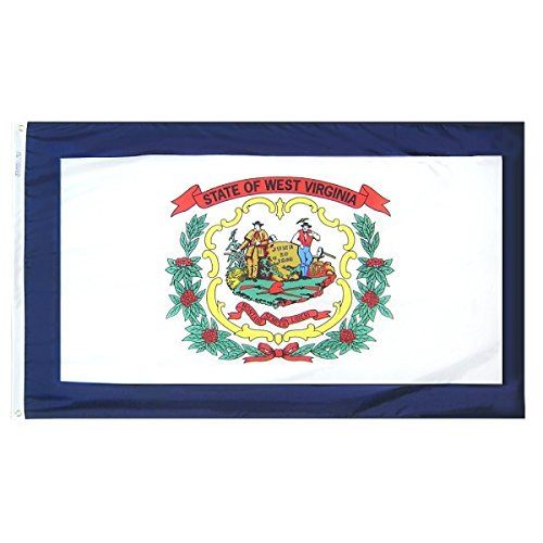 Annin flagmakers West Virginia State Flagge, 5 by 8' -