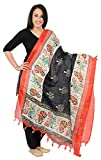 ORNI Women's Silk Dupatta (Multi-Coloure...
