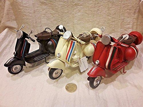Moto modellino bomboniere battesimo nascita scooter tipo vespa comunione cm 17