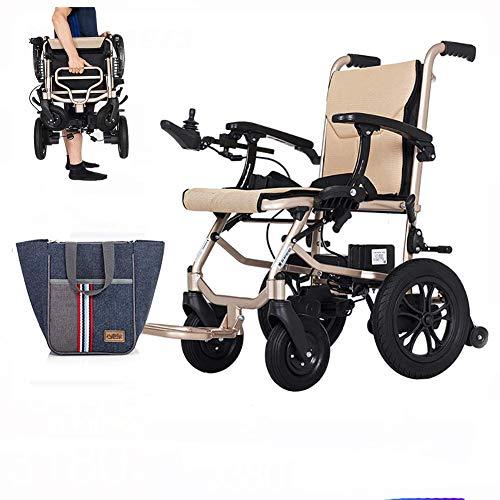 BD.Y Guter elektrischer Rollstuhl, Faltbarer intelligenter älterer