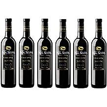 Pata Negra Reserva D.O Valdepeñas. Vino Tinto - 6 Botellas x 750 ml - Total : 4500 ml