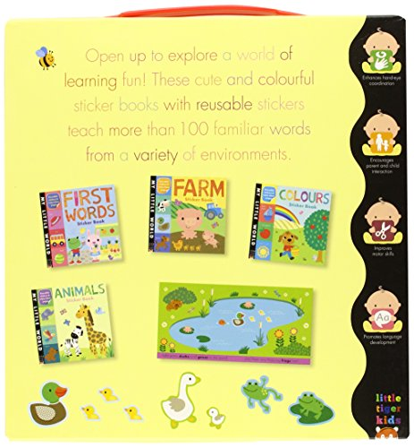 My Little World. My First Early-Learning Sticker Books