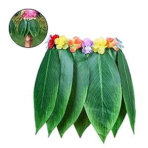 LUOEM-Hawaiian-Hula-Dancer-traje-de-falda-de-hierba-Luau-favores-de-fiesta-Hula-Dancer-falda-para-Hawai-Luau-fiesta-de-playa-con-decoracin
