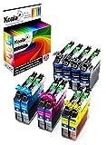 Koala Tintenpatronen/Druckerpatronen 10er Multipack Ersatz für LC223 kompatible mit Brother DCP-J4120DW J562DW MFC-J480DW J680DW J880DW J4420DW J4620DW J4625DW J5320DW J5620DW J5625DW J5720DW (4*Schwarz, 2*Cyan, 2*Magenta, 2*Gelb)