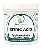 Special Ingredients Citric Acid Powder 100g Premium Quality