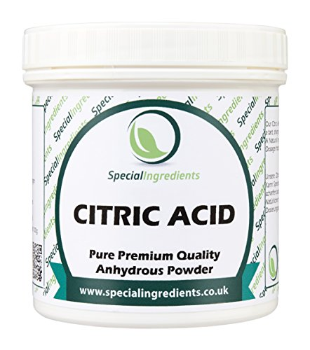 Special Ingredients Acido Citrico 250 gr qualità premium (Etichette ed istruzioni in italiano)