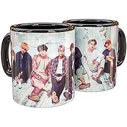 BTS Mug de Ceramica