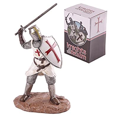Knights Of The Realm Figurine Attacking These Fantasy Knight Princess And Historical Figures