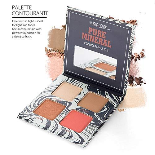Nouveau Professionnel de Maquillage Visage Poudre Powder Panel Contour Color Cosmétiques Correcteur Bâton Naturel Stylo Crème Beauté Femmes (A)