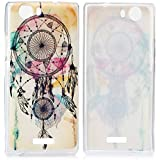 Tinxi Case Cover - Funda para Wiko Ridge 4G, diseño Dreamcatcher