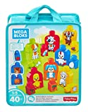 Mega Bloks-FLT36 .Basics Playset degli Animali,, FLT36