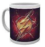 Justice League 'Logo Flash' da None colore bianco. Prodotti ufficiali.