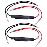 2Motorrad LED Flasher Blinker Widerstand Adapter 12V Universal