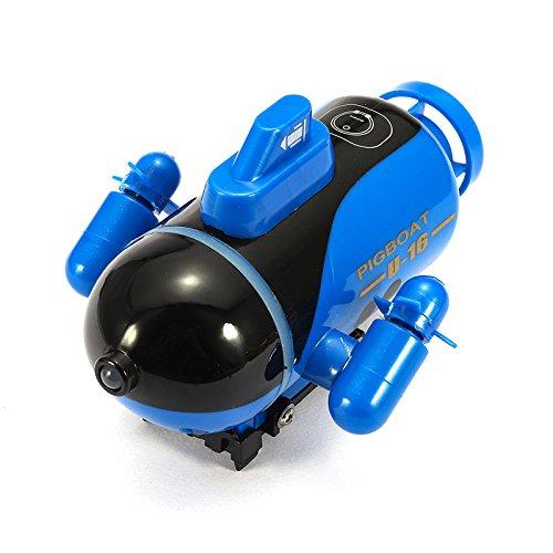 adio Fernbedienung Rc Sub Boat Racing U-Boot Explorer Toys Geschenk-Blau ()