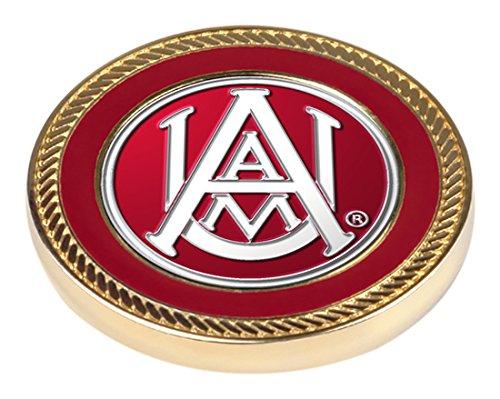 NCAA Alabama A & M Bulldogs–Challenge Coin/2BALL MARKER (Silber-herausforderung Münze)