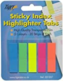 Pack of 200 Sticky Notes Index it Tabs Page Markers Post School Revision Book